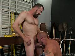 THE RIGHT JOB FOR HIS TOOL
